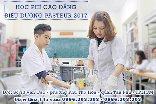 Học phí Cao đẳng Điều dưỡng TPHCM năm 2018