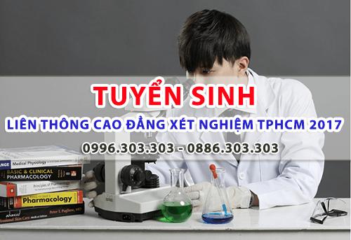 Học phí Liên thông Cao đẳng Xét nghiệm TPHCM