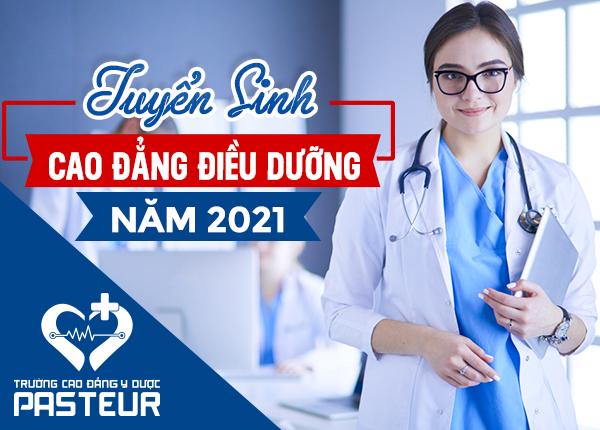Trường Cao đẳng Y Dược Pasteur TP.HCM tuyển sinh Cao đẳng Điều dưỡng 2021