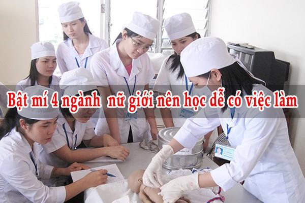 Bật mí 4 ngành nữ giới nên học dễ có việc làm