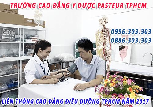 Địa chỉ học Liên thông Cao đẳng Điều dưỡng tại TP.HCM